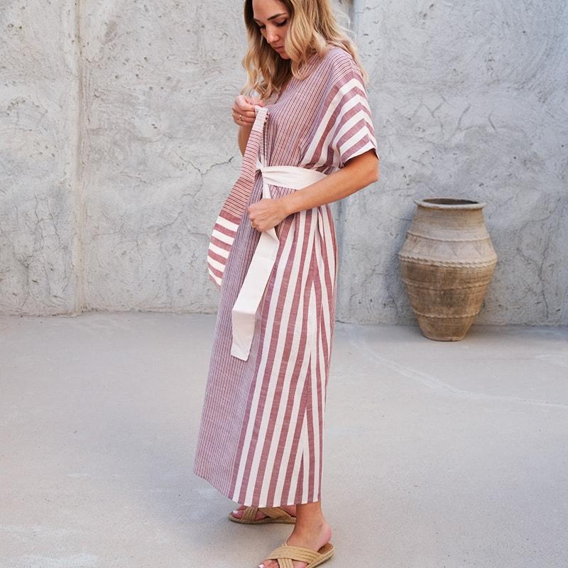 KOS_Kaftan_Dress_CherryStripeMix_3
