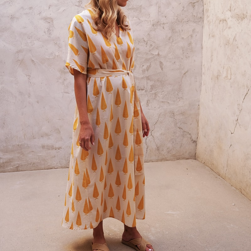 KOS_Kaftan_Dress_GoldLeafDrop_2